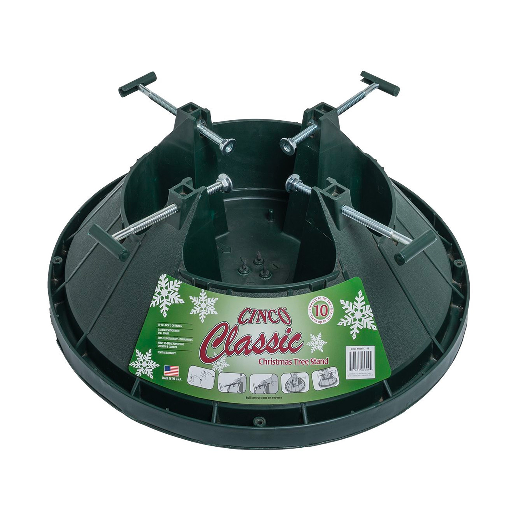 Santas Fields Cinco 10 Classic Tree stand